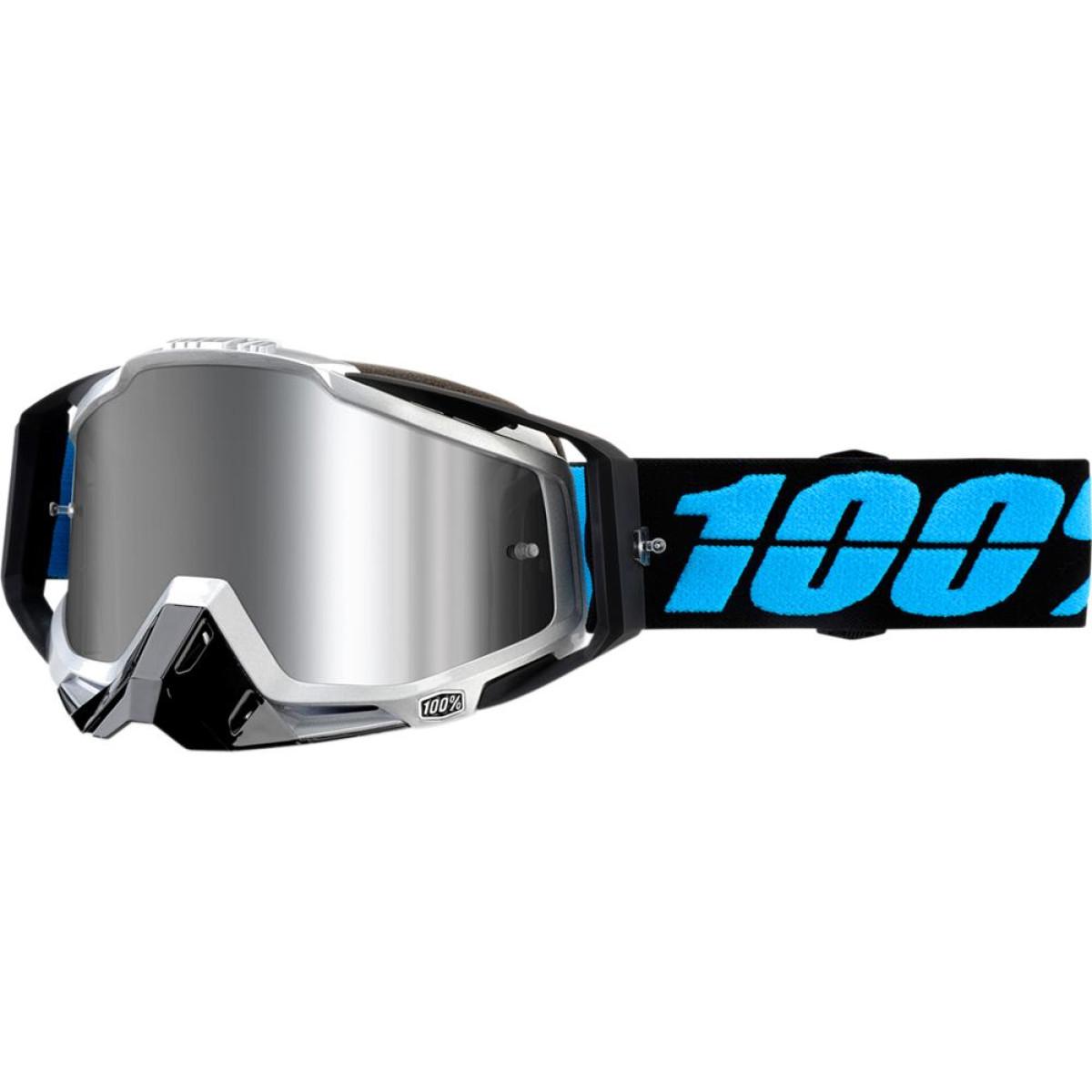 100% Crossglasögon Racecraft+ Daffed Black - Forsellmotor.se 398a4482cf66f