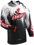 Thor Phase Crosströja Vented Warp Black/Red