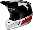 Fox V3 Crosshjälm Preest Black/Red