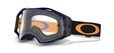Oakley Airbrake Crossglasögon Blue/Orange Retro