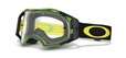 Oakley Airbrake Crossglasögon Green/Yellow Retro