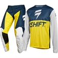 Shift WHIT3 Label GP Navy/Yellow Klädpaket
